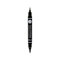 Подводка Absolute New York Eye Expert Duo Stroke Liner (Цвет Black variant_hex_name 000000) подводка absolute new york shimmer eyeliner 11 цвет nf011 glitter brown variant hex name 635145