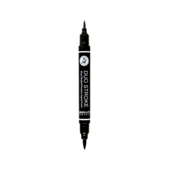 Подводка Absolute New York Eye Expert Duo Stroke Liner (Цвет Black variant_hex_name 000000) карандаш для губ absolute new york perfect wear lip liner 05 цвет abpw05 hot cocoa variant hex name 634128