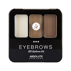 HD Eyebrow Kit 03 (Цвет AEBK03 Brunette variant_hex_name 917661)