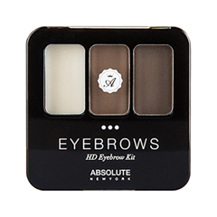 Набор для бровей Absolute New York HD Eyebrow Kit 05 (Цвет AEBK05 Cocoa variant_hex_name 7E6D65) корректор absolute new york hd cover stick 05 цвет 05 apricot beige variant hex name d4a182