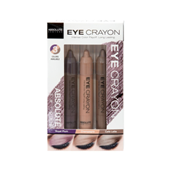 Карандаш для глаз Absolute New York Набор Eye Crayon Set карандаш для глаз absolute new york waterproof gel eye liner 92 цвет nfb92 pink variant hex name fe8cc2