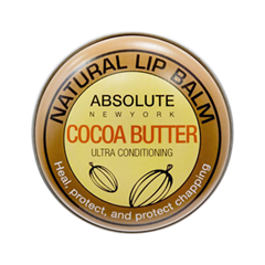 Цветной бальзам для губ Absolute New York Natural Lip Balm 04 (Цвет ANB04 Cocoa Butter variant_hex_name DAE2B1) badger cocoa butter 7g