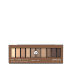 Для глаз Absolute New York Eye Artiste Palette 01 (Цвет 01 Art Of Nude variant_hex_name F9E4D4)