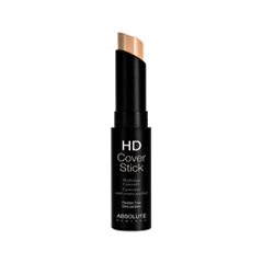 Корректор Absolute New York HD Cover Stick 03 (Цвет 03 Bare Beige variant_hex_name E5BAA1) тональная основа absolute new york hd flawless fluid foundation 03 цвет 03 beige variant hex name c3967f