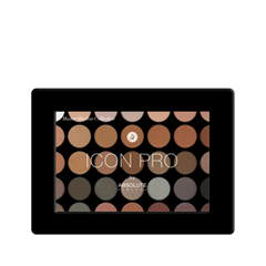 Для глаз Absolute New York Icon Pro Palette 02 (Цвет 02 Smoke & Mirror variant_hex_name 926246)