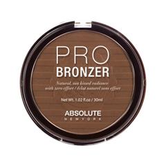 Бронзатор Absolute New York Pro Bronzer 02 (Цвет 02 Medium variant_hex_name 925D3A) макияж absolute new york универсальный карандаш all purpose pencil 02 цвет app02 medium variant hex name e8a373