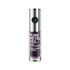 Тени для век Absolute New York Pure Metal Veil Eyeshadow 07 (Цвет 07 Posh Plum variant_hex_name 5F4A5B) тени для век absolute new york pure metal veil eyeshadow 05 цвет 05 jeweled java variant hex name 855642