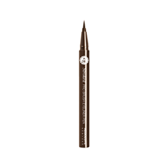 Подводка Absolute New York Stroked Pro Brush Liner 02 (Цвет 02 Dark Brown variant_hex_name 392E25) карандаш для глаз absolute new york waterproof gel eye liner 92 цвет nfb92 pink variant hex name fe8cc2