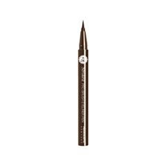 Подводка Absolute New York Stroked Pro Brush Liner 02 (Цвет 02 Dark Brown variant_hex_name 392E25) подводка absolute new york shimmer eyeliner 11 цвет nf011 glitter brown variant hex name 635145