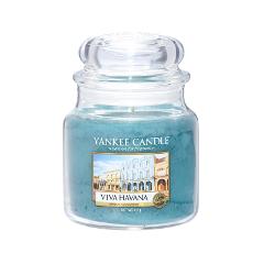 Ароматическая свеча Yankee Candle Viva Havana Medium Jar Candle (Объем 411 г)