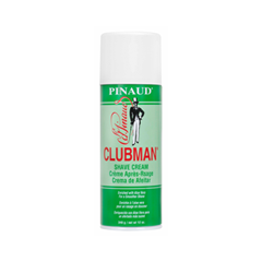 Для бритья Clubman Pinaud Пена для бритья Shave Cream (Объем 340 мл) для бритья proraso pre shave cream sensitive skin formula объем 100 мл