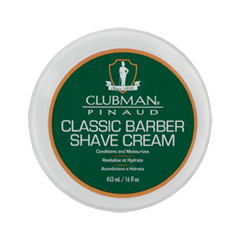 Для бритья Clubman Pinaud Shave Cream (Объем 453 мл) после бритья clubman pinaud after shave lotion объем 375 мл