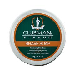 Для бритья Clubman Pinaud Shave Soap (Объем 59 г) после бритья clubman pinaud кровоостанавливающий карандаш дорожный styptic pencil объем 9 г