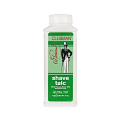 Для бритья Clubman Pinaud Тальк для сухого бритья Shave Talc Neutral (Объем 112 г) после бритья clubman pinaud after shave lotion объем 375 мл