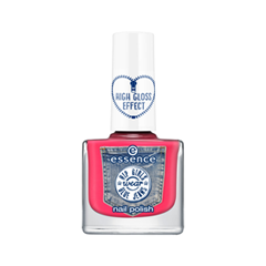 Лак для ногтей essence Hip Girls Wear Blue Jeans Nail Polish 03 (Цвет 03 Show Me What You Got! variant_hex_name FF4972) лак для ногтей essence wood you love me nail polish 02 цвет 02 soulmate variant hex name cbcd93