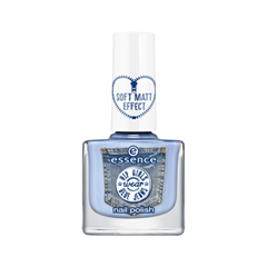 Лак для ногтей essence Hip Girls Wear Blue Jeans Nail Polish 04 (Цвет 04 Don't Be Shy! variant_hex_name C1D2EB) лак для ногтей essence wood you love me nail polish 02 цвет 02 soulmate variant hex name cbcd93