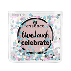 Тени для век essence Live.Laugh.Celebrate! Eyeshadow 01 (Цвет 01 Best Friends Are Forever  variant_hex_name DCC3C3) тени для век essence тени хайлайтер hi lighting eyeshadow mousse 01 цвет 01 hi ivory variant hex name fdece4