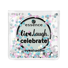 Тени для век essence Live.Laugh.Celebrate! Eyeshadow 02 (Цвет 02 Having A Good Time  variant_hex_name CAD4CF) палетки essence live laugh celebrate palette 4