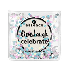 Тени для век essence Live.Laugh.Celebrate! Eyeshadow 03 (Цвет 03 Life Is Beautiful  variant_hex_name EBE6DE) тени для век essence quattro eyeshadow 13 цвет 13 laugh love lime variant hex name 438894