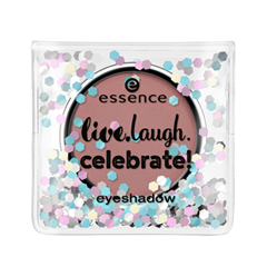 Тени для век essence Live.Laugh.Celebrate! Eyeshadow 05 (Цвет 05 T.G.I.F  variant_hex_name B98280) тени для век essence live laugh celebrate eyeshadow 07 цвет 07 the sun is shining variant hex name d6ac7a