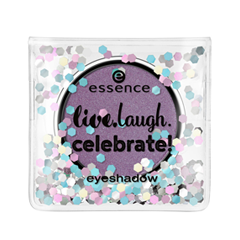 Тени для век essence Live.Laugh.Celebrate! Eyeshadow 06 (Цвет 06 Celebrate Good Times  variant_hex_name 95829D) купить