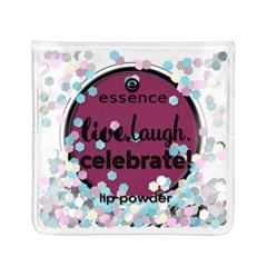 Губы essence Пудра Live.Laugh.Celebrate! Lip Powder 01 (Цвет 01 Crush On You!  variant_hex_name 8A2F5C) лак для ногтей deborah lippmann crème nail polish crush on you цвет crush on you variant hex name f5547d