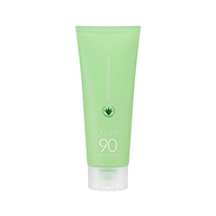 Эмульсия Holika Holika Aloe 90% Soothing Emulsion (Объем 150 мл) holika holika мультипатч гелевый алоэ aloe 99% soothing gel multi patch 5гр