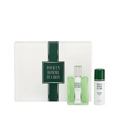 Туалетная вода Caron Парфюмерный набор Pour Un Homme de Caron + Deodorant Spray (Объем 125 мл + 50 мл)  недорого