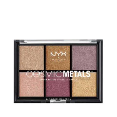Для глаз NYX Professional Makeup Cosmic Metals Shadow Palette тени nyx professional makeup палетка теней perfect filter shadow palette olive you 03