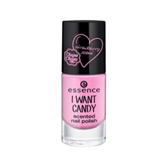 Лак для ногтей essence I Want Candy Scented Nail Polish 01 (Цвет 01 I Want Strawberry! variant_hex_name FAADD4) mythos clean skin купить оптом