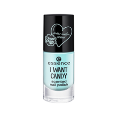Лак для ногтей essence I Want Candy Scented Nail Polish 03 (Цвет 03 I Want Water Melon! variant_hex_name A2E5E5) i want a sister