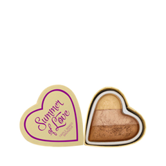 Бронзатор Makeup Revolution I Heart Makeup Blushing Hearts Hot Summer of Love (Цвет Hot Summer of Love variant_hex_name C69A7C) салфетки heart of india dt3200 200