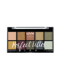 Для глаз NYX Professional Makeup Perfect Filter Shadow Palette Olive You (Цвет Olive You variant_hex_name deb295) тени nyx professional makeup палетка теней perfect filter shadow palette olive you 03