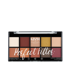 Для глаз NYX Professional Makeup Perfect Filter Shadow Palette Rustic Antique (Цвет Rustic Antique variant_hex_name f4e6d9) тени nyx professional makeup палетка теней perfect filter shadow palette olive you 03