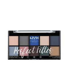 Для глаз NYX Professional Makeup Perfect Filter Shadow Palette Marine Layer (Цвет Marine Layer variant_hex_name dfbaaa) тени nyx professional makeup палетка теней perfect filter shadow palette golden hour 01