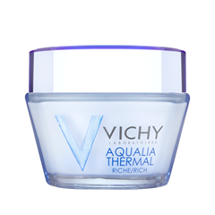 Крем Vichy Aqualia Thermal Dynamic Hydration Rich Cream Dry to Very Dry Skin (Объем 50 мл) vichy бальзам для губ aqualia thermal 4 7 мл бальзам для губ aqualia thermal 4 7 мл 4 7 мл