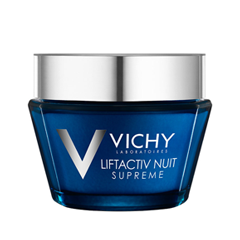 Ночной уход Vichy LiftActiv Night Supreme (Объем 50 мл) vichy крем для рук экстравосстанавливающий vichy nutriextra manos m1558800 50 мл