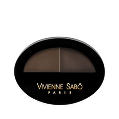 Тени для бровей Vivienne Sabo Brow Arcade 02 (Цвет 02 variant_hex_name 5A4739) тушь для ресниц vivienne sabo brow mascara brow arcade тон 02
