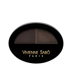 Тени для бровей Vivienne Sabo Brow Arcade 03 (Цвет 03 variant_hex_name 3F3432) тушь для ресниц vivienne sabo brow mascara brow arcade тон 02
