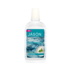 Ополаскиватель Jāsön Total Protection Sea Salt Mouth Rinse - Cool Mint (Объем 473 мл) туалетная вода davidoff cool water sea rose объем 30 мл вес 80 00