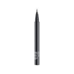 Подводка Make Up Factory Calligraphic Eye Liner 04 (Цвет 04 Grey variant_hex_name 838080) laura mercier подводка для глаз tightline cake eye liner charcoal grey