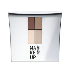 Тени для век Make Up Factory Eye Colors 11 (Цвет 11 Nude Meets Brown variant_hex_name A88B78) тушь make up factory make up factory ma120lwhdr04