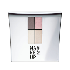 Тени для век Make Up Factory Eye Colors 85 (Цвет 85 Nude Meets Pink variant_hex_name E1BABC) тушь make up factory make up factory ma120lwhdr04