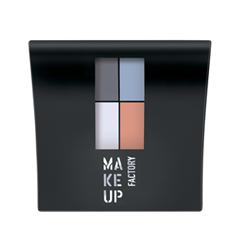 Для глаз Make Up Factory Mat Eye Colors 580 (Цвет 580 Pastel Garden Party variant_hex_name A6B0C5) тушь make up factory make up factory ma120lwhdr04