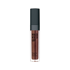 Блеск для губ Make Up Factory Pearly Mat Lip Fluid Long-Lasting 24 (Цвет 24 Golden Cocoa variant_hex_name 804A3C) тушь make up factory make up factory ma120lwhdr04