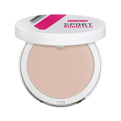 Компактная пудра Pupa Sport Addicted Powder 002 (Цвет 002 Natural Beige variant_hex_name DDBFB1 Вес 20.00) pupa карандаш для век sport addicted waterproof liner 001 мощный черный