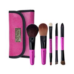 Набор кистей для макияжа Royal & Langnickel Brush Essentials™ Cosmetic Travel Set royal & langnickel pink essentials brow lash comb кисть грумер для бровей и ресниц royal&langnickel
