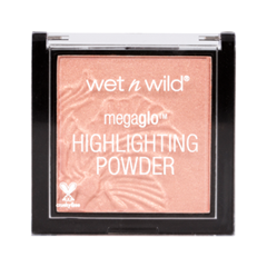 Хайлайтер Wet n Wild MegaGlo Highlighting Powder E322B (Цвет E322B Crown Of My Canopy variant_hex_name FABFAD) хайлайтер catrice highlighting powder 015 цвет 015 merry cherry blossom variant hex name e7a5ab