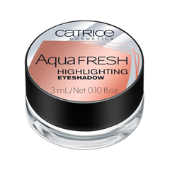 Тени для век Catrice Aqua Fresh Highlighting Eyeshadow 020 (Цвет 020 Luminous Sensation variant_hex_name B87767) хайлайтер catrice highlighting powder 015 цвет 015 merry cherry blossom variant hex name e7a5ab