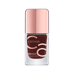 Лак для ногтей Catrice Brown Collection Nail Lacquer 05 (Цвет 05 Pure Elegance variant_hex_name 4F2524) цена и фото